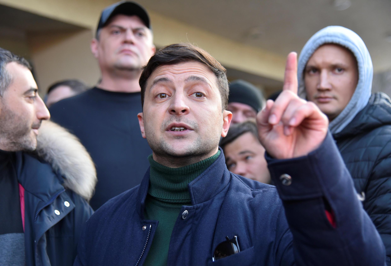 Кандидат на президентский пост, актер Владимир Зеленский – новое лицо в украинской политике