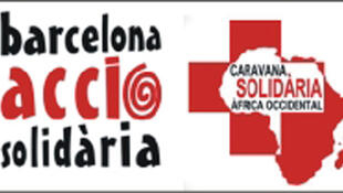 Logo de Barcelona-Accio-Solidaria, ONG pour laquelle travaillent les trois otages espagnols.