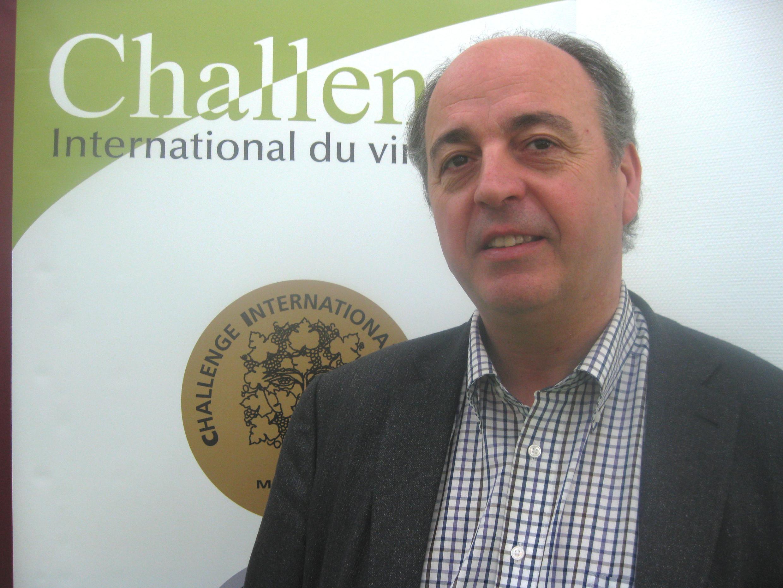 Hervé Romat, presidente del Challenge International du Vin.