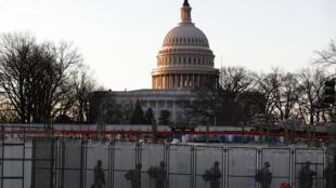 Điện Capitol, Washington DC, nơi diễn ra lễ nhậm chức tổng thống thứ 46 Hoa Kỳ . Ảnh chụp ngày 19/01/2020.