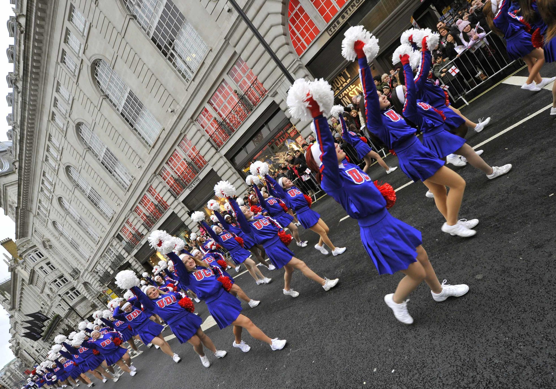 Diễu hành mừng năm mới tại Luân Đôn ngày 01/01/2012.