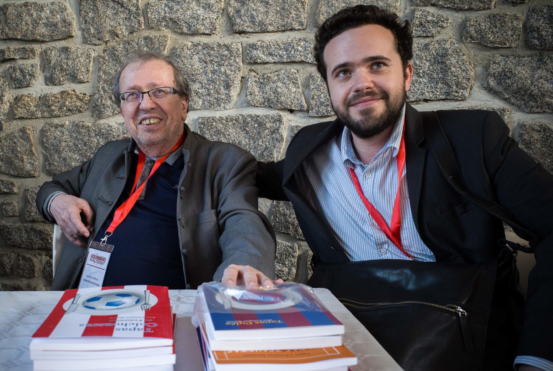 Les Edouard Cointreau, père et fils...
