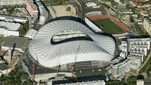 The 'Stade Vélodrome', where the l'Olympique de Marseille (OM) football team host their home games.