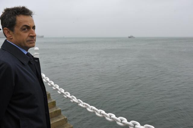 Николя Саркози 3 января 2012.