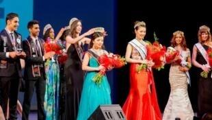 多伦多华人林慧莲于5月16日当选2015年度加拿大世界小姐