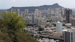 A cidade de de Honolulu, no Havaí, em novembro de 2011.