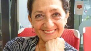 La escritora argentina Alicia Dujovne Ortiz en los estudios de RFI