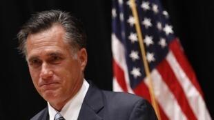 O candidato da oposição republicana à presidência dos Estados Unidos, o empresário Mitt Romney.