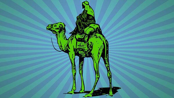 Le logo de Silk Road ne prêtait guère à équivoque.