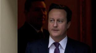O primeiro-ministro britânico David Cameron
