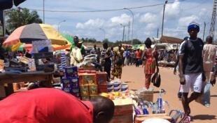En Centrafrique, les prix restent très élevés sur les étals des marchés en raison de la fermeture de la frontière avec le Cameroun. (image d'illustration)