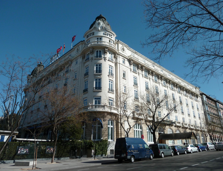 巴黎麗茲酒店外景