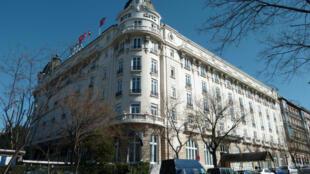 巴黎丽兹酒店外景