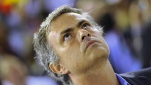 L'entraîneur portugais, José Mourinho, symbole du renouveau du Real Madrid.