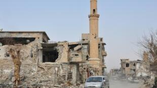 استان دیرالزور در شرق سوریه