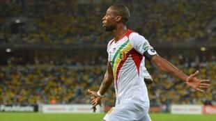 Seydou Keita played his 100th game for his country on day four of ACN