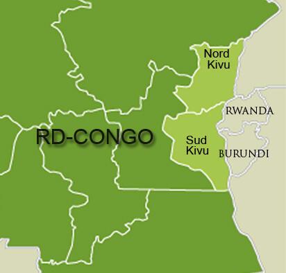 Le Sud-Kivu est une province de l'est de la RDC.