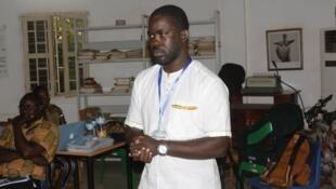 Miguel de Barros, activista guineense.