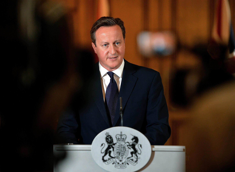 Thủ tướng Anh phát biểu sau khi có tin David Haines đã bị sát hại, ngày 14/09/2014.