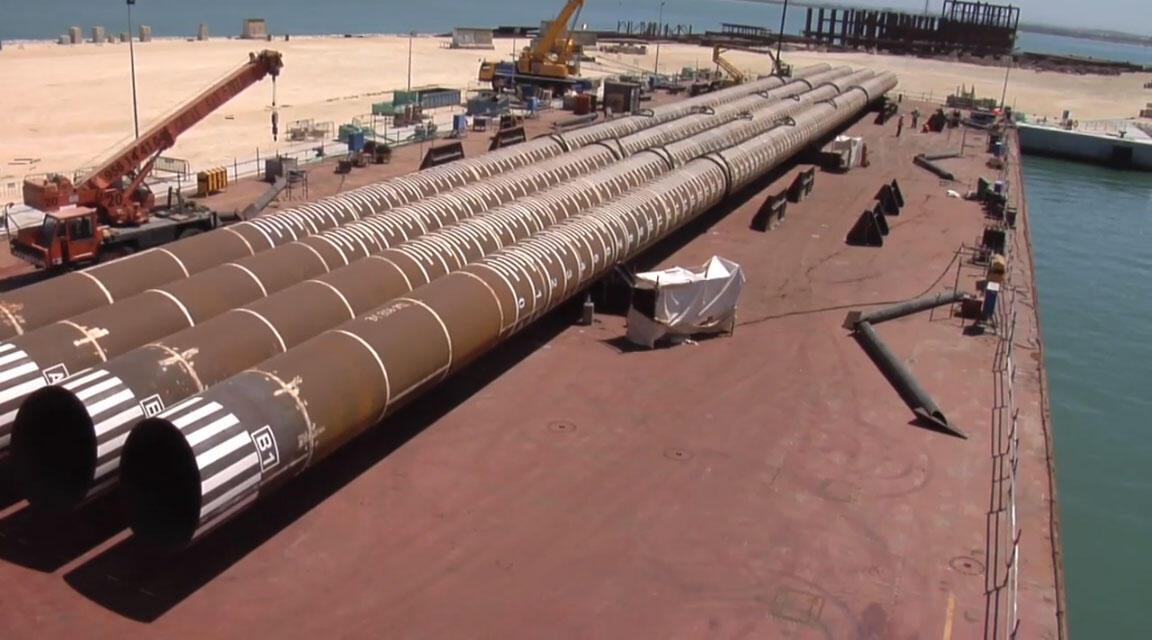 Captura vídeo de uma das instalações do projeto Castor
