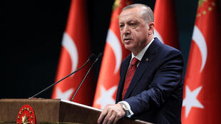Recep Tayyip Erdogan, Presidente da Turquia.