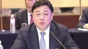 中国前公安部副部长孙力军 落马前会议照
