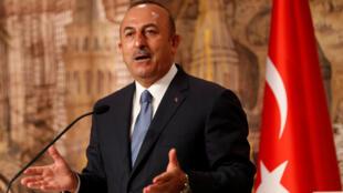 مولود چاووش اُغلو وزیر امور خارجۀ ترکیه