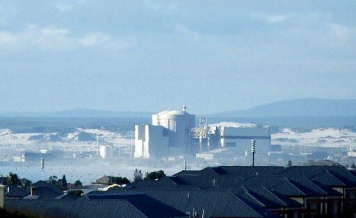 La centrale nucléaire de Koeberg en Afrique du Sud.