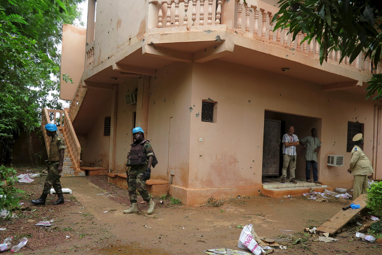 Tsohuwar shalkwatar rundunar G5 a Sevare na kasar Mali