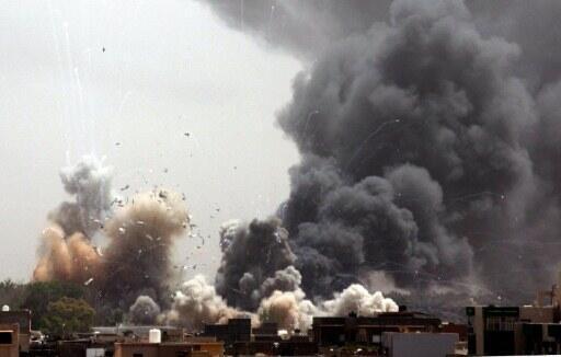 Moja ya mashambulizi ya NATO yaliyowahi kufanywa mjini Tripoli, Libya