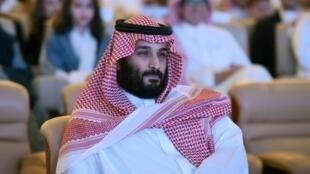 Mohammed ben Salmane, le prince héritier d'Arabie saoudite.