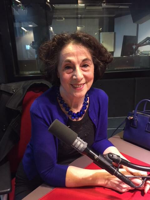 La romancière italienne Gilda Piersanti en studio à RFI (mai 2018).