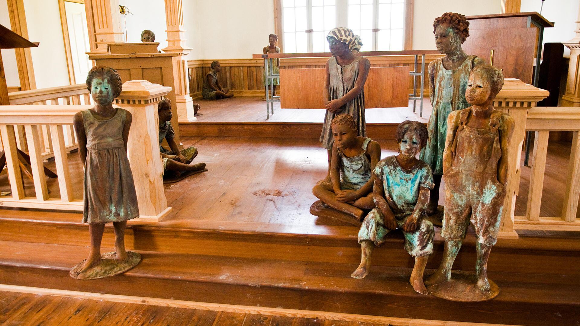 Etats-Unis - Whitney Plantation - Louisiane - esclaves - Si loin si proche