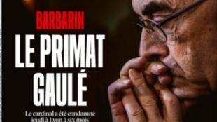 Capa do jornal Libération desta sexta-feira, 8 de março de 2018.