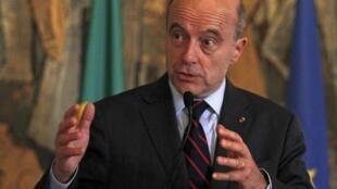 Глава МИД Франции Ален Жюппе