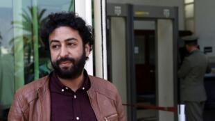 Le journaliste marocain Omar Radi (ici en mars 2020) est poursuivi dans deux dossiers.