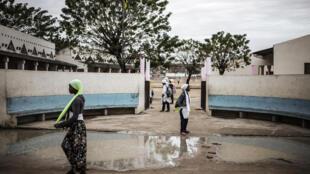 Escola em Nacala, Moçambique.