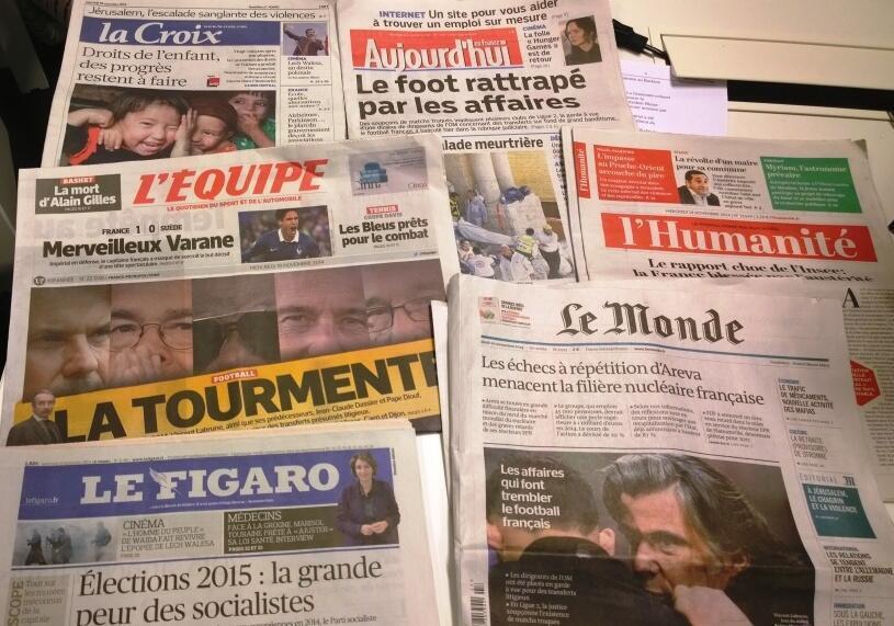 Diários franceses 19.11.2014