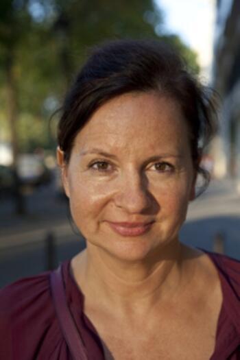 La journaliste allemande Martina Meister, créatrice du site madaboutparis.com.