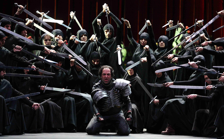 """""""Macbeth"""" tem forte presença visual."""