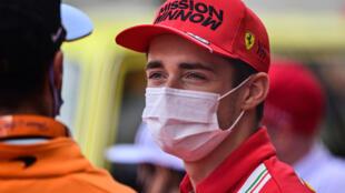 Le Monégasque Charles Leclerc avant le GP de Monaco, le 23 mai 2021
