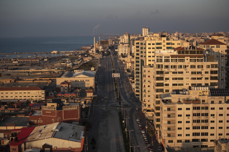 Une vue de la ville de Gaza en décembre 2020.