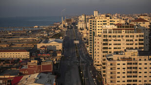 Light at the end of the tunnel: the future looks brighter for some residents of Gaza City.