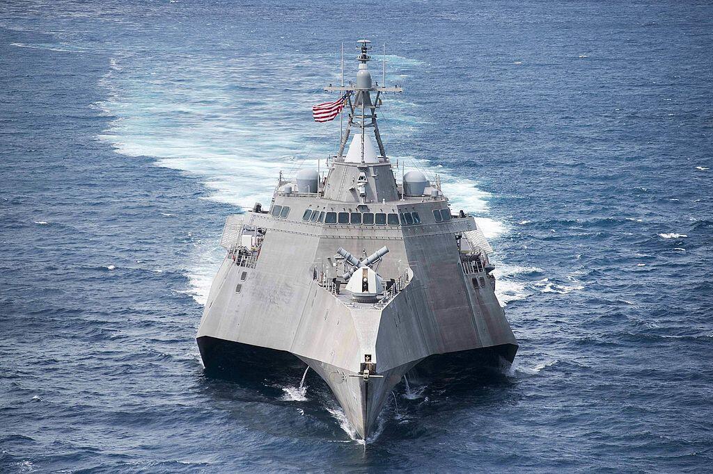 Ảnh minh họa. Chiến hạm USS Colorado thuộc loại LCS.