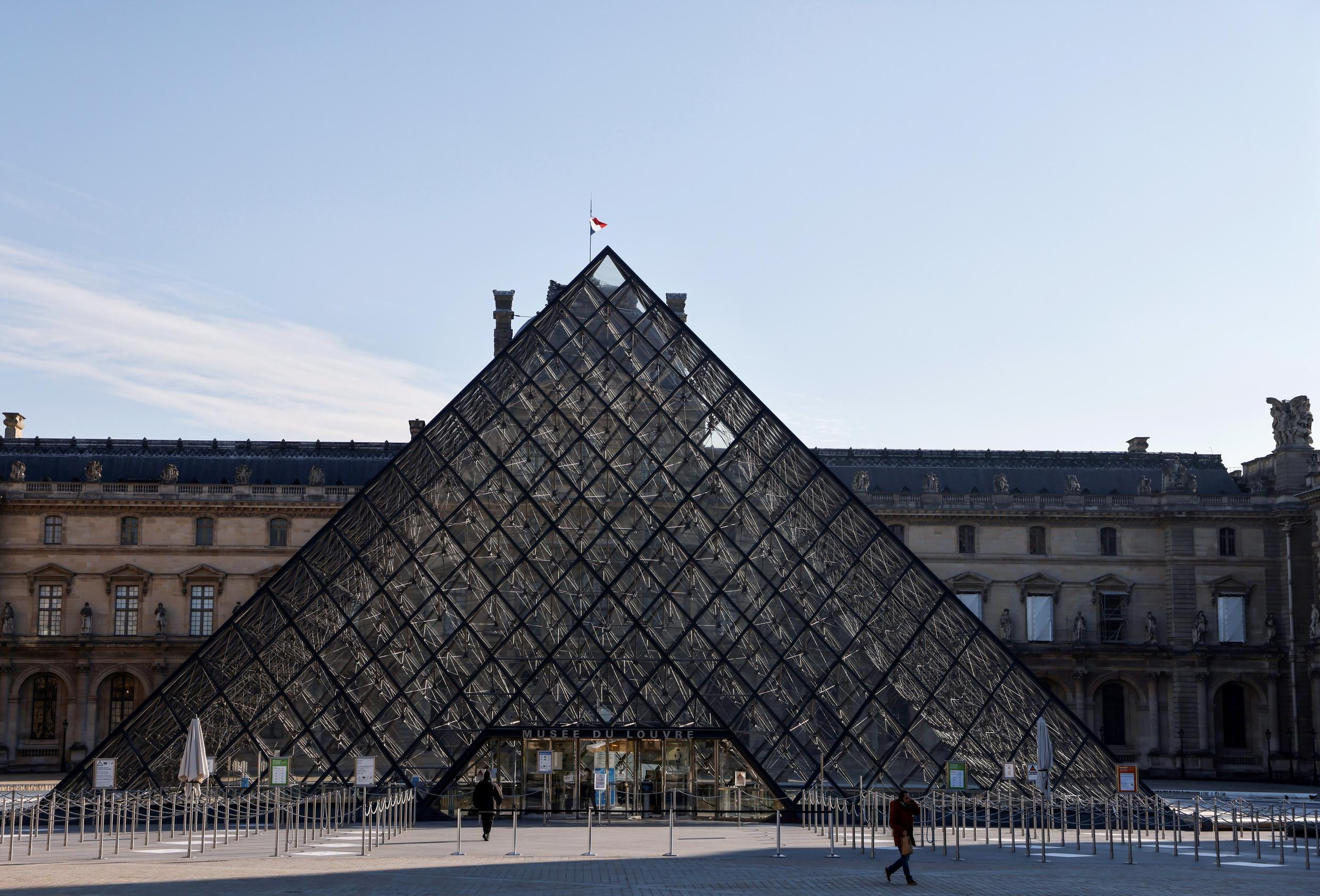 The Louvre has explored new ways to raise cash during Covid