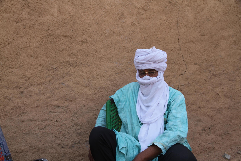 Photo d'archive de Mohamed Ag Intallah, actuel chef de la tribu de Ifoghas de Kidal.