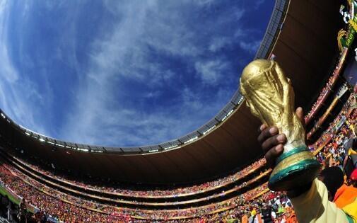 Cúp vàng Jules Rimet niềm khát khao của bất kỳ đội bóng nào đến Brazil 2014