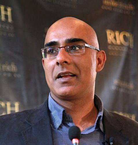 Aly-Khan Satchu, trader and founder of Rich Ltd.