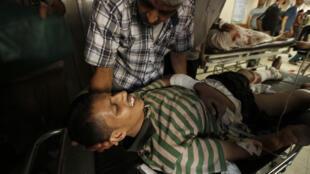 La trêve de 72h doit notamment avoir pour objectif une meilleure prise en charge des blessés à Gaza.