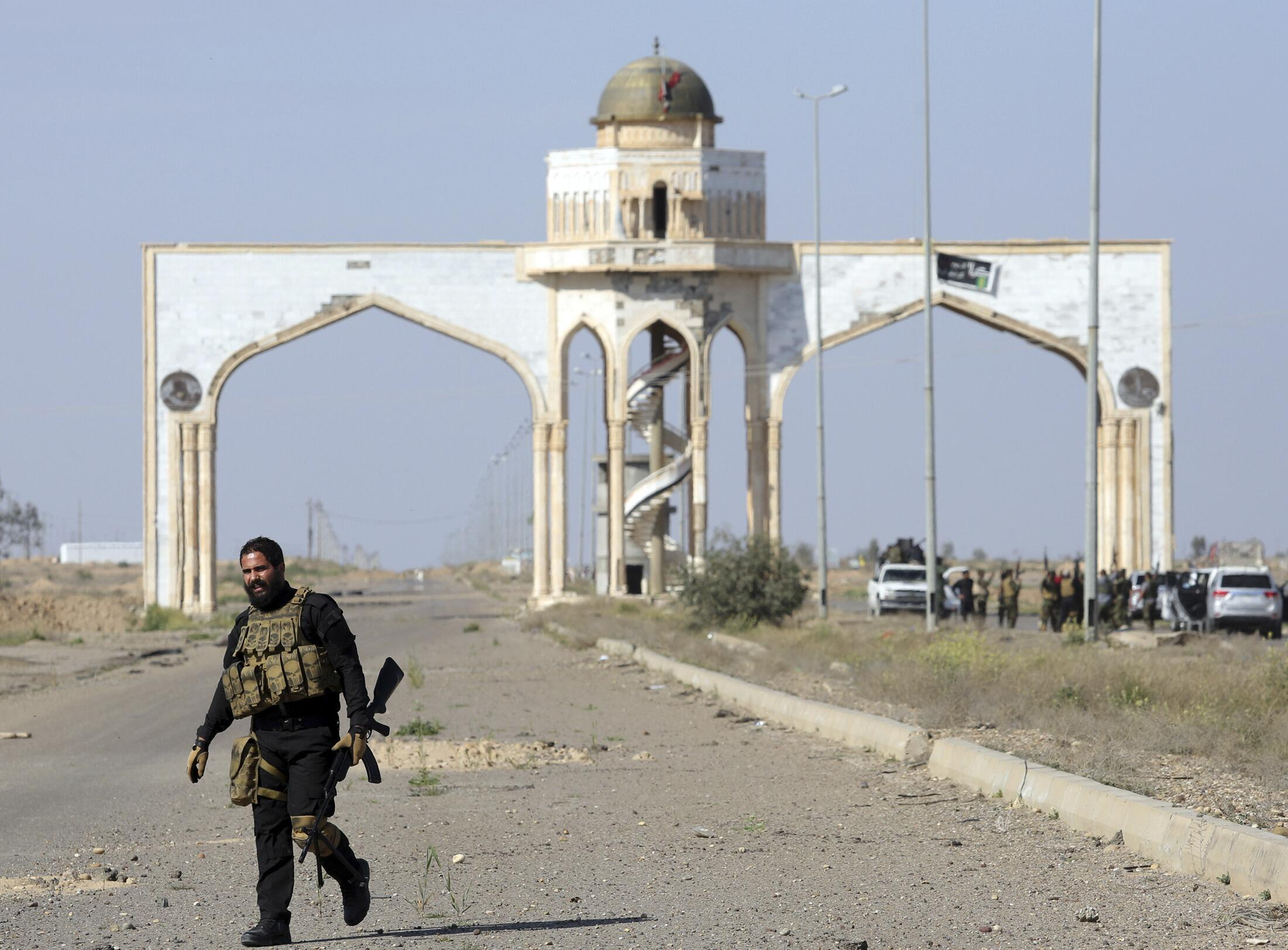 Иракский военный, Тикрит, Ирак, 18 февраля 2015 г.
